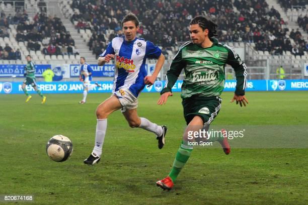 Emmanuel RIVIERE / Sandy PAILLOT Grenoble / Saint Etienne 20e journee Ligue 1 Stade des Alpes