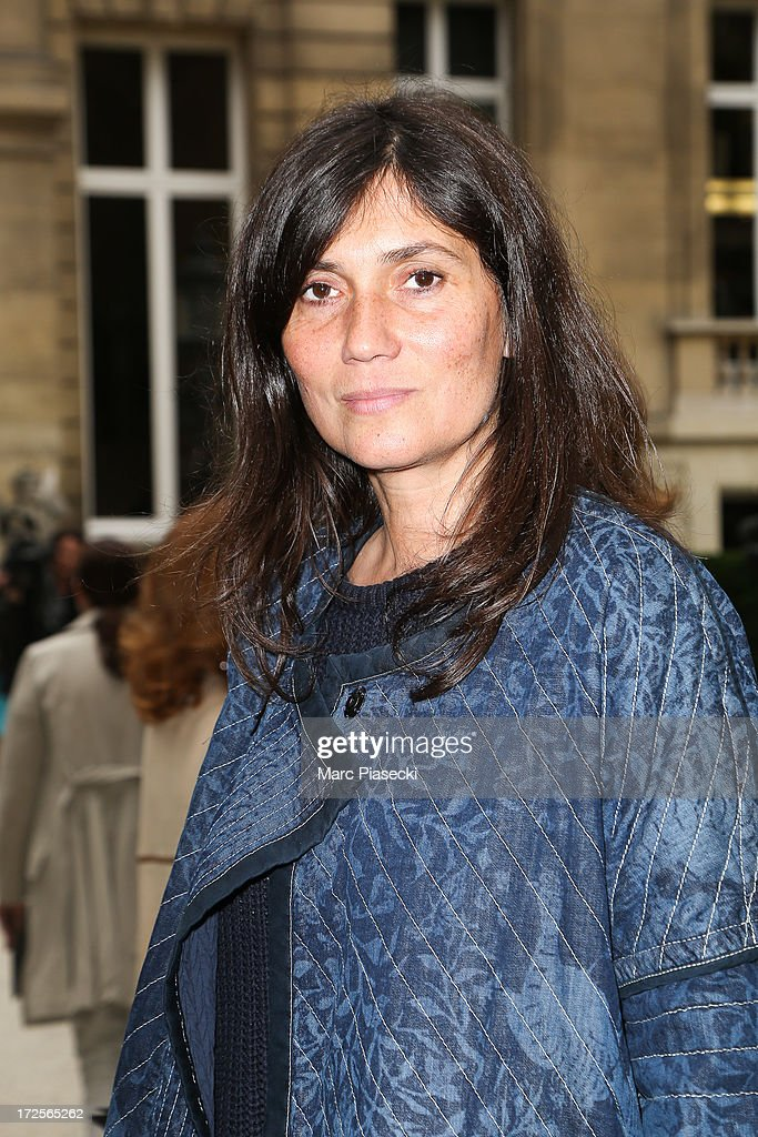 <a gi-track='captionPersonalityLinkClicked' href=/galleries/search?phrase=Emmanuelle+Alt&family=editorial&specificpeople=758682 ng-click='$event.stopPropagation()'>Emmanuelle Alt</a> attends the Valentino show as part of Paris Fashion Week Haute-Couture Fall/Winter 2013-2014 at Hotel Salomon de Rothschild on July 3, 2013 in Paris, France.
