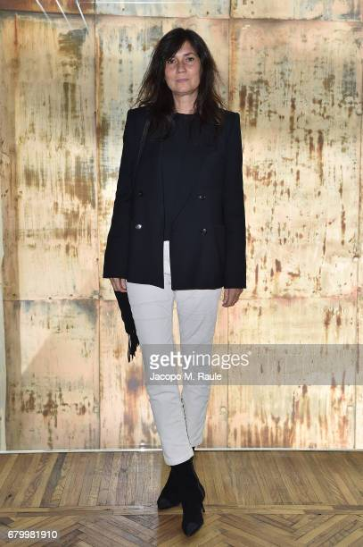 Emmanuelle Alt while attending the Prada Resort 2018 Womenswear Show in Osservatorio on May 7 2017 in Milan Italy