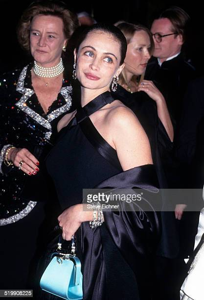 Emmanuelle Beart at premiere of 'The Insider' New York 1990s
