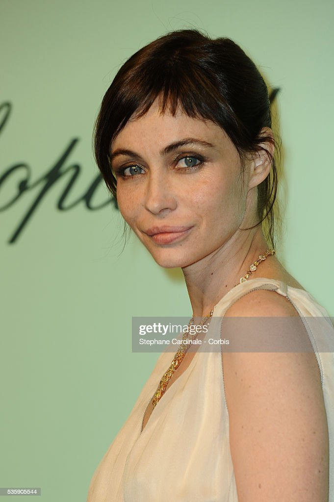 Emmanuelle Beart at the 'Chopard 150th Anniversary Party' during the 63rd Cannes International Film Festival.