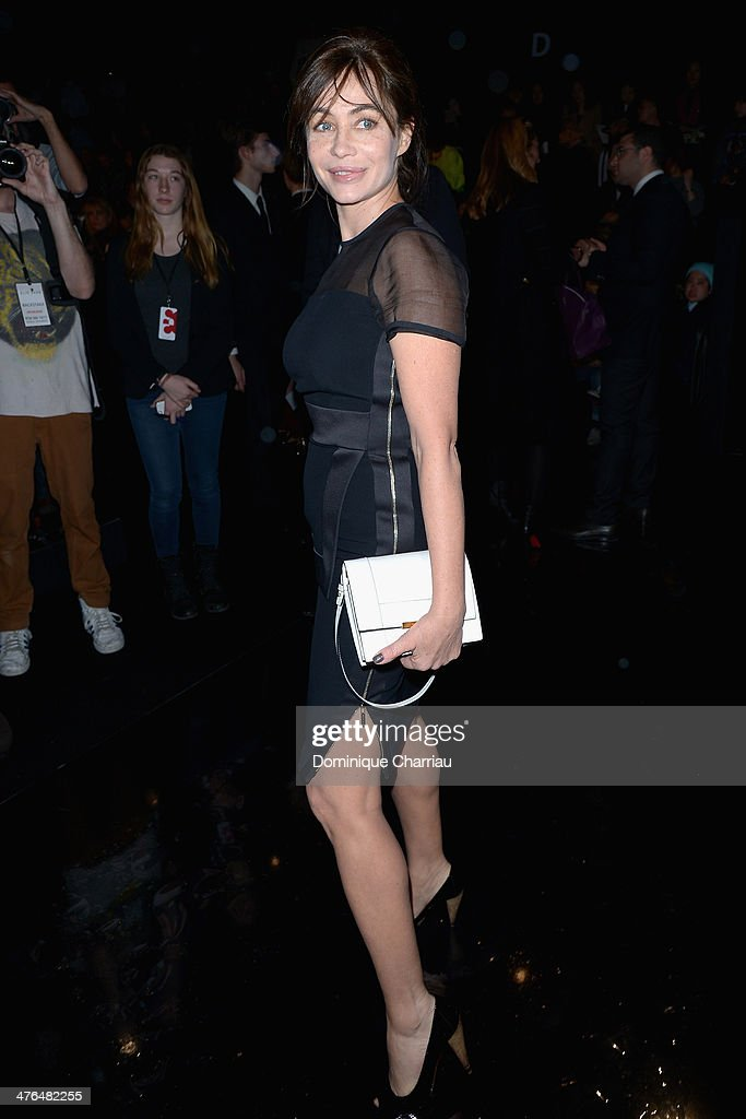Elie Saab : Front Row  - Paris Fashion Week Womenswear Fall/Winter 2014-2015