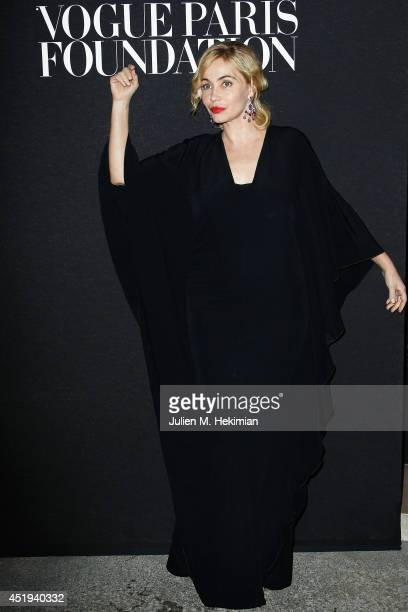 Emmanuelle Beart attends the Vogue Foundation Gala as part of Paris Fashion Week at Palais Galliera on July 9 2014 in Paris France