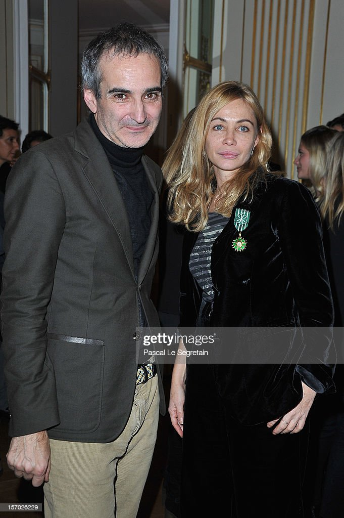 Emmanuelle Beart Decorated At French Ministry Of Culture