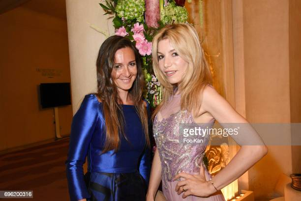 Emmanuelle Boidron and Lola Marois Bigard attend Amnesty International 'Musique Contre L'Oubli' Gala Ceremony at Theatre des Champs Elysees on June14...