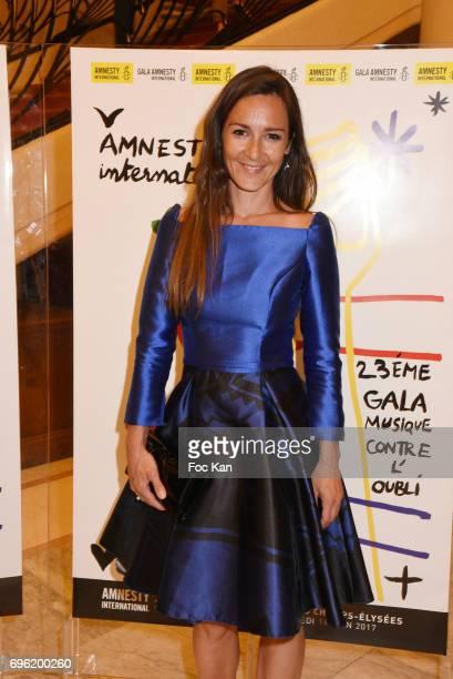 Emmanuelle Boidron attends Amnesty International 'Musique Contre L'Oubli' Gala Ceremony at Theatre des Champs Elysees on June14 2017 in Paris France