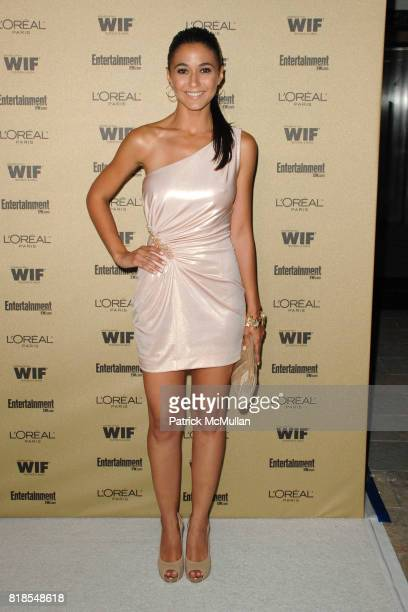 Emmanuelle Chriqui attend The 2010 Entertainment Weekly and Women In Film PreEmmy Party Sponsored by L'Oreal Paris at The Sunset Marquis Hotel on...