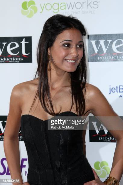 Emmanuelle Chriqui attend WET Presents LOVE A Benefit to Support WET's 10th Season at The Angel Orensanz Foundation on February 9 2009 in New York...