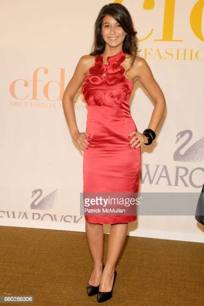 Emmanuelle Chriqui attends CFDA AWARDS 2009 ARRIVALS at Alice Tully Hall on June 15 2009 in New York City