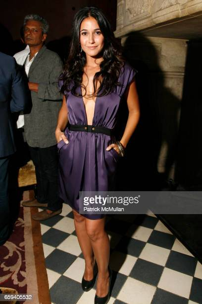 Emmanuelle Chriqui attends FORD Models Fashion Week KickOff Party at Rose Bar on September 9 2009 in New York City