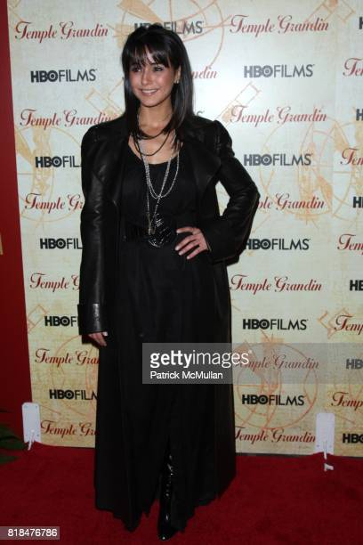 Emmanuelle Chriqui attends HBO FILMS Host the New York Premiere of TEMPLE GRANDIN at Time Warner Screening Room on January 26 2010 in New York City