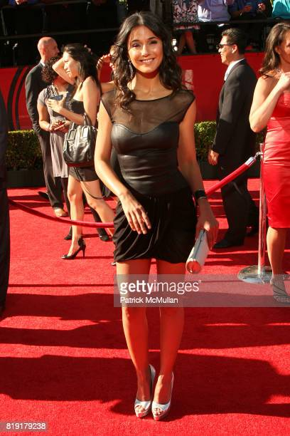 Emmanuelle Chriqui attends The 2010 ESPY Awards Arrivals at Shrine Theatre on July 14 2010 in Los Angeles CA