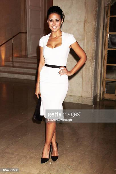 Emmanuelle Chriqui attends the 2013 Skin Cancer Foundation Gala at The Plaza Hotel on October 15 2013 in New York City