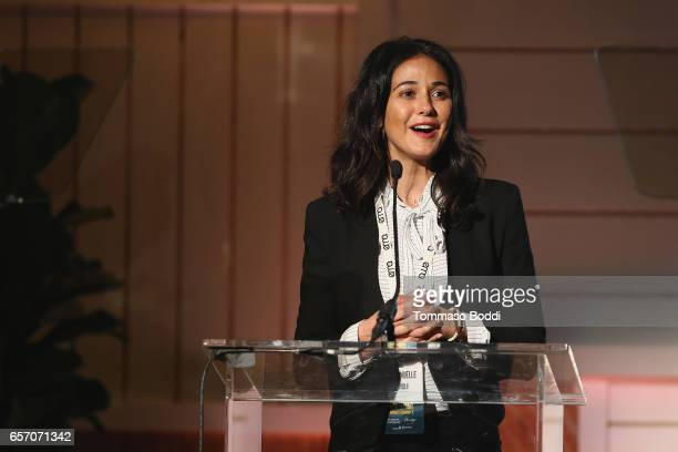 Emmanuelle Chriqui attends the EMA Impact Summit held at the Montage Beverly Hills on March 23 2017 in Beverly Hills California