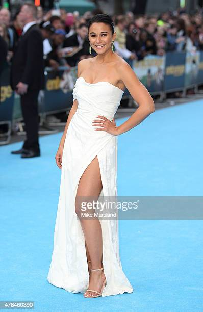 Emmanuelle Chriqui attends the European Premiere of 'Entourage' at Vue West End on June 9 2015 in London England