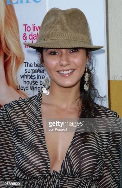 Emmanuelle Chriqui during AMC Movieline's Hollywood Life Magazine's Young Hollywood Awards Arrivals by Jon Kopaloff at El Rey Theatre in Los Angeles...