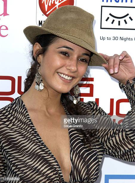 Emmanuelle Chriqui during AMC Movieline's Hollywood Life Magazine's Young Hollywood Awards 2003 at El Rey Theatre in Los Angeles California United...