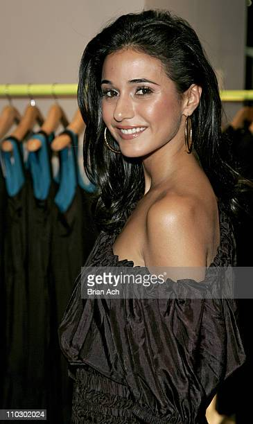 Emmanuelle Chriqui during Gilda's Club Worldwide Young Leadership Council Benefit at the DKNY Flagship Store September 28 2006 at DKNY Fagship Store...