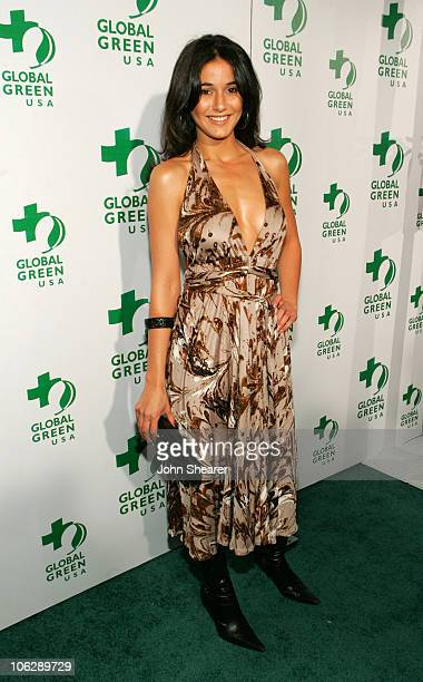 Emmanuelle Chriqui during Global Green USA's 2006 Oscar Party in Los Angeles California United States