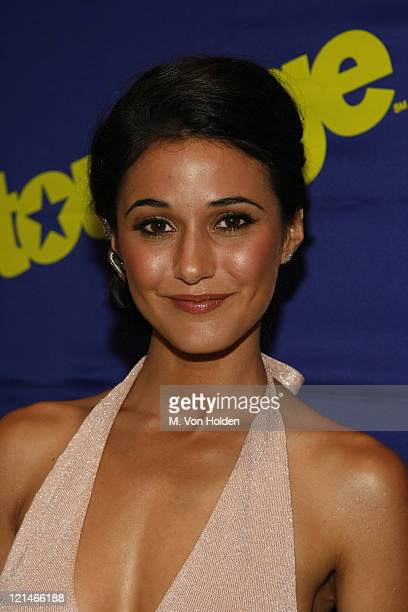 Emmanuelle Chriqui during HBO's Entourage screening at Skirball Center in New York Ny United States