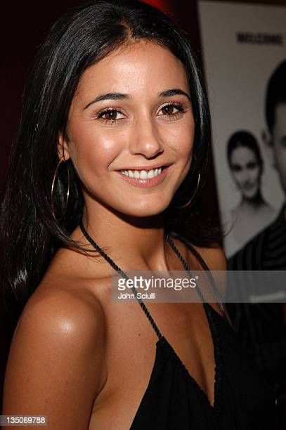 Emmanuelle Chriqui during Lions Gate Films Presents 'In The Mix' Special Cast and Crew Screening Arrivals at Arclight Cinemas in Hollywood California...