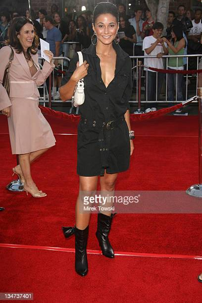 Emmanuelle Chriqui during 'Miami Vice' Los Angeles World Premiere at Mann Village Theatre in Westwood California United States