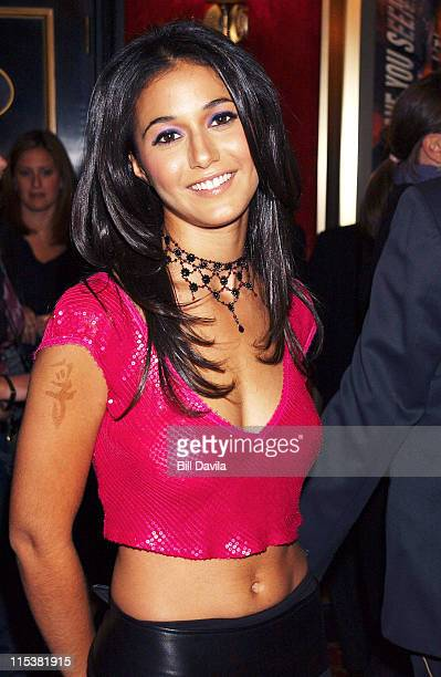 Emmanuelle Chriqui during 'On The Line' Premiere in New York City at Ziegfeld Theater in New York City New York United States
