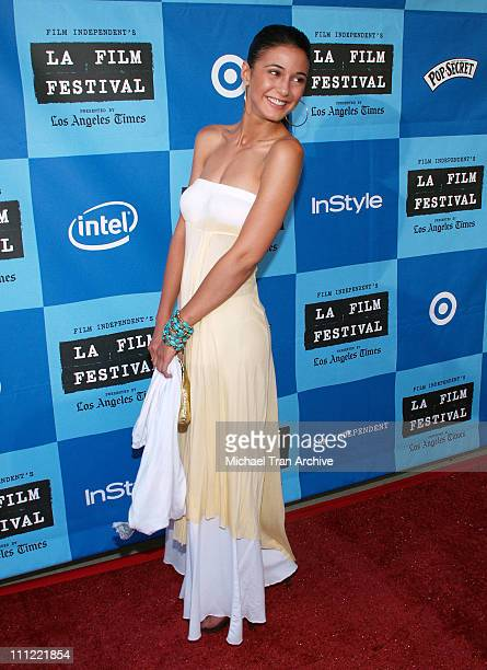 Emmanuelle Chriqui during World Premiere of 'Ira Abby' Arrivals at Mann Festival Theatre in Westwood CA United States