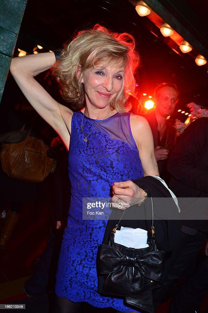 Emmanuelle de Boysson attends La Closerie Ses Lilas Literary Awards 2013 - 6th Edition At La Closerie Des Lilas on April 9, 2013 in Paris, France.