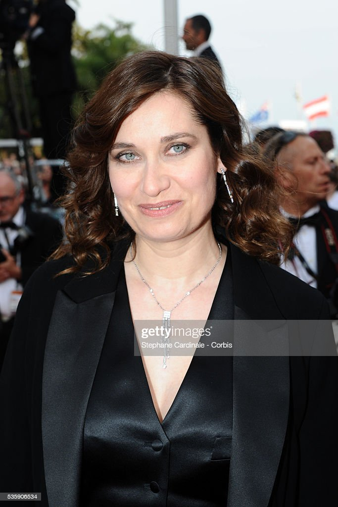Emmanuelle Devos at the Premiere for 'Poetry' during the 63rd Cannes International Film Festiva