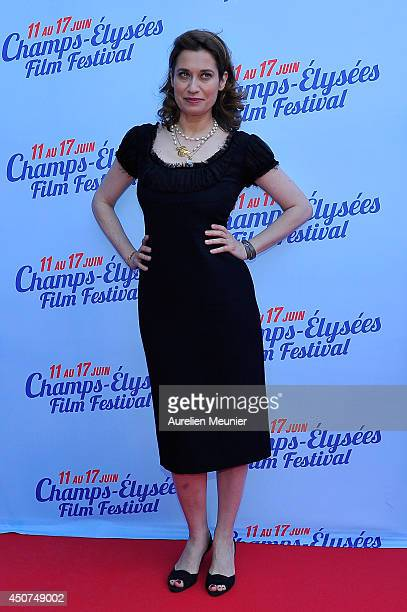 Emmanuelle Devos attends the On A Failli Etre Amies Paris Premiere during Day 6 of the Champs Elysees Film Festival on June 16 2014 in Paris France