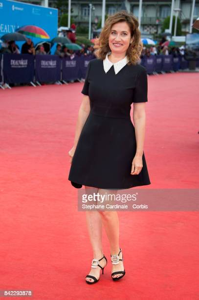 Emmanuelle Devos attends the Tribute To 'Jeff Goldblum' And 'Kidnap' Premiere during the 43rd Deauville American Film Festival on September 3 2017 in...
