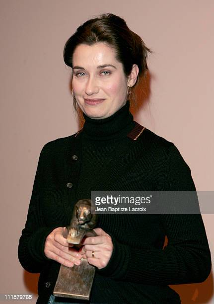 Emmanuelle Devos during Lumiere Awards 2005 at Cinema des Cineastes in Paris France
