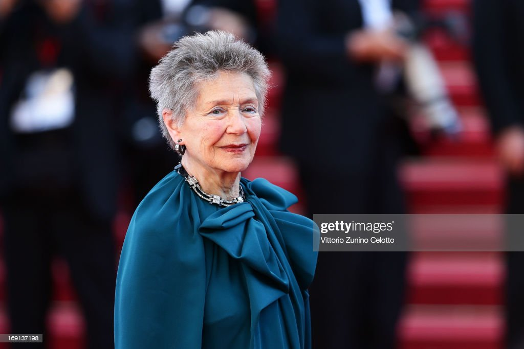 Emmanuelle Riva attends the 'Blood Ties' Premiere during the 66th Annual Cannes Film Festival at the Palais des Festivals on May 20, 2013 in Cannes, France.