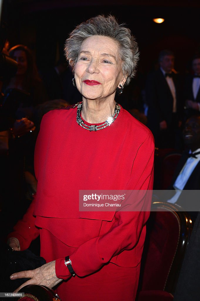<a gi-track='captionPersonalityLinkClicked' href=/galleries/search?phrase=Emmanuelle+Riva&family=editorial&specificpeople=2029319 ng-click='$event.stopPropagation()'>Emmanuelle Riva</a> attends the Cesar Film Awards 2013 at Theatre du Chatelet on February 22, 2013 in Paris, France.