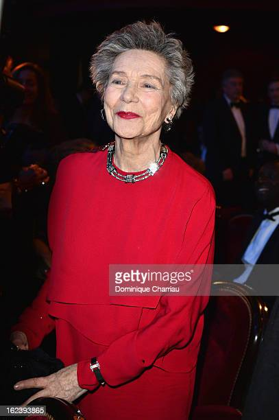 Emmanuelle Riva attends the Cesar Film Awards 2013 at Theatre du Chatelet on February 22 2013 in Paris France