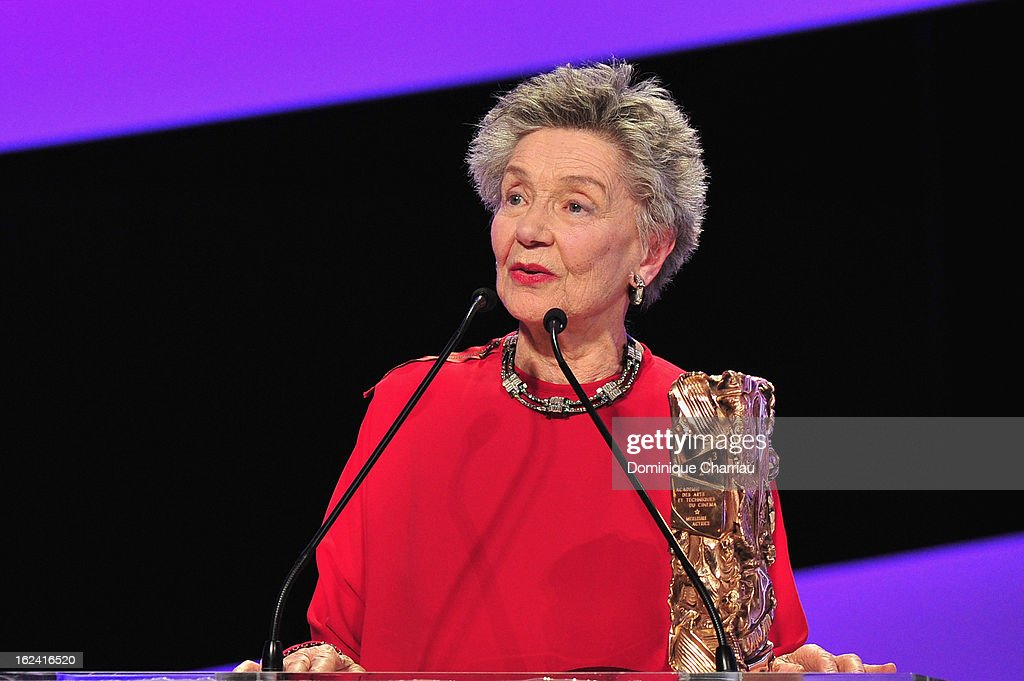 <a gi-track='captionPersonalityLinkClicked' href=/galleries/search?phrase=Emmanuelle+Riva&family=editorial&specificpeople=2029319 ng-click='$event.stopPropagation()'>Emmanuelle Riva</a> receives the Best Actress Cesar for 'Amour' during the 37th Cesar Film Awards Cesar Film Awards 2013 at Theatre du Chatelet on February 22, 2013 in Paris, France.