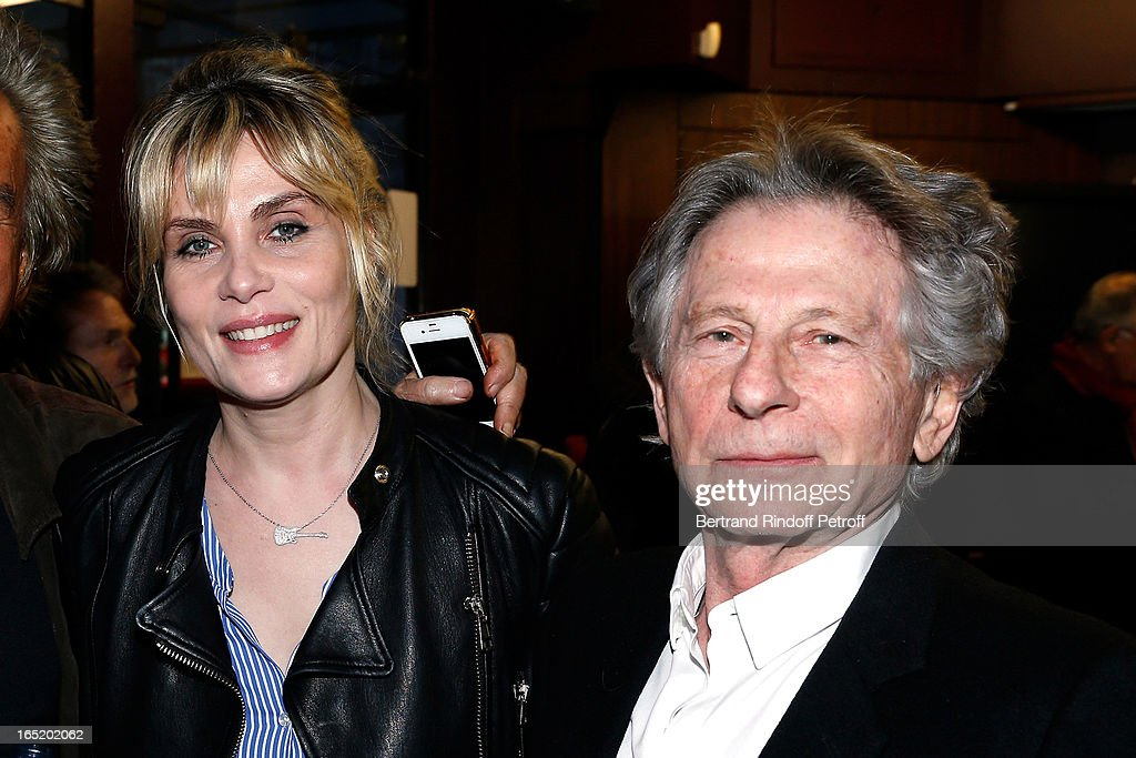 <a gi-track='captionPersonalityLinkClicked' href=/galleries/search?phrase=Emmanuelle+Seigner&family=editorial&specificpeople=240590 ng-click='$event.stopPropagation()'>Emmanuelle Seigner</a> and <a gi-track='captionPersonalityLinkClicked' href=/galleries/search?phrase=Roman+Polanski&family=editorial&specificpeople=207150 ng-click='$event.stopPropagation()'>Roman Polanski</a> attend 'Des gens qui s'embrassent' movie premiere at Cinema Gaumont Marignan on April 1, 2013 in Paris, France.