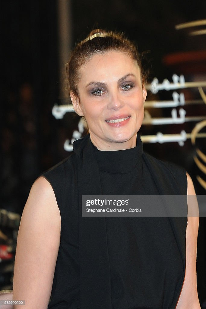 Emmanuelle Seigner attends the Opening Ceremony of the Marrakech 10th Film Festival.