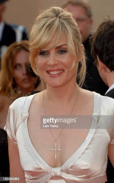 Emmanuelle Seigner during 2007 Cannes Film Festival 'Le Scaphandre et le Papillon' Premiere at Palais des Festival in Cannes France