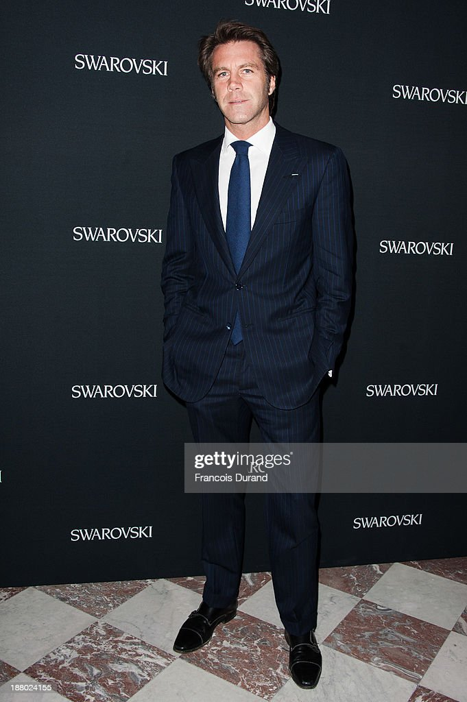 Emmanuel-Philibert de Savoie attends the Swarovski Dinner In Honor of the Bouroullec Brothers at Chateau de Versailles on November 14, 2013 in Versailles, France.