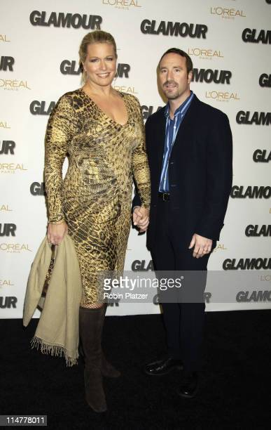 Emme and husband Phil during Glamour Magazine Salutes The 2005 Women of the Year Inside Arrivals at Avery Fisher Hall in New York City New York...