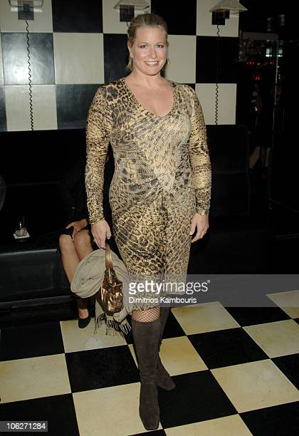 Emme during Glamour Magazine Salutes The 2005 Women of the Year After Party in New York City New York United States