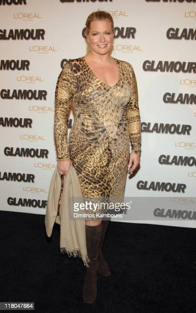 Emme during Glamour Magazine Salutes The 2005 Women of the Year Red Carpet at Avery Fisher Hall in New York City New York United States