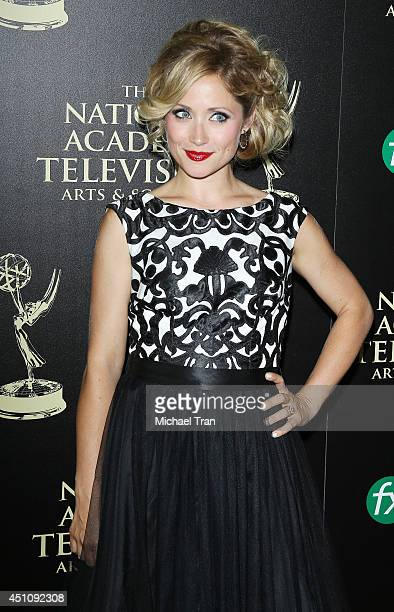 Emme Marcy Rylan arrives at the 41st Annual Daytime Emmy Awards held at The Beverly Hilton Hotel on June 22 2014 in Beverly Hills California