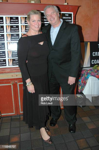Emme Snyder and Bill Snyder during Oprah Winfrey's 'The Color Purple A New Musical' Special Viewing After Party at Victor's Cafe in New York NY...