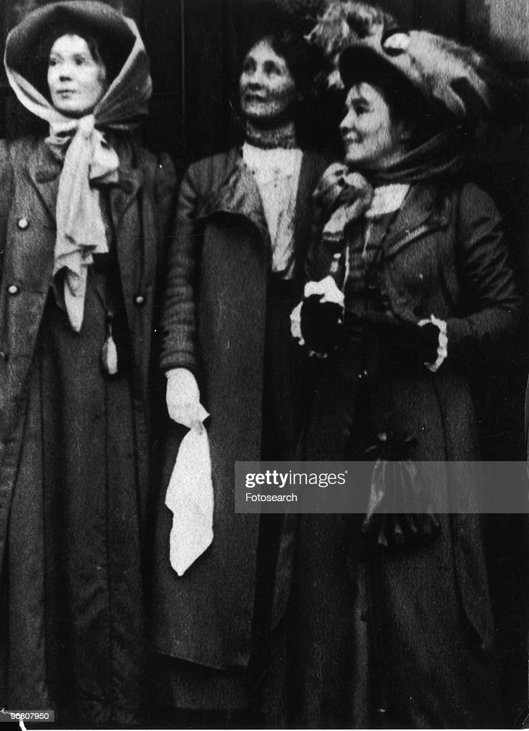 <a gi-track='captionPersonalityLinkClicked' href=/galleries/search?phrase=Emmeline+Pankhurst&family=editorial&specificpeople=226667 ng-click='$event.stopPropagation()'>Emmeline Pankhurst</a> with friends, circa 1890s. (Photo by Fotosearch/Getty Images).