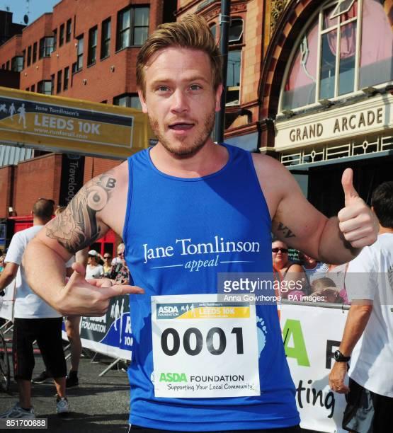 Emmerdale actor Matthew Wolfenden ahead of the Leeds 10k run