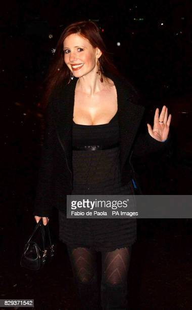 Emmerdale star Amy Nuttall arrives for a night out at The Lounge 68 bar in Huddersfield