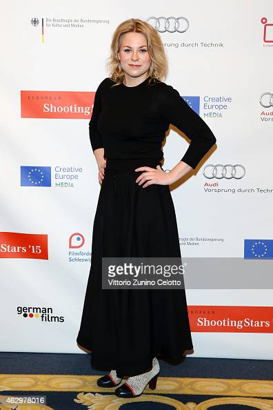 Emmi Parviainen attends the Shooting Stars 2015 photocall during the 65th Berlinale International Film Festival at Ritz Carlton on February 8 2015 in...